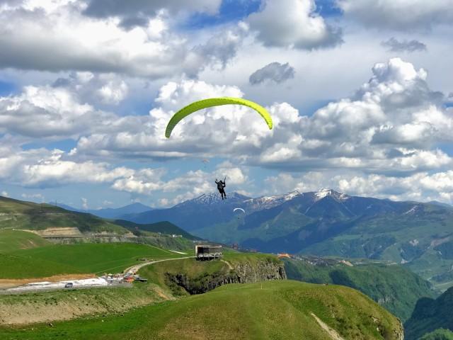 Gudauri Paragliding Experience