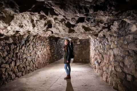 Budapest: Buda Castle Caves Walking Tour