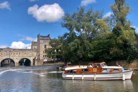 Bath: City Boat Trip and Walking Tour