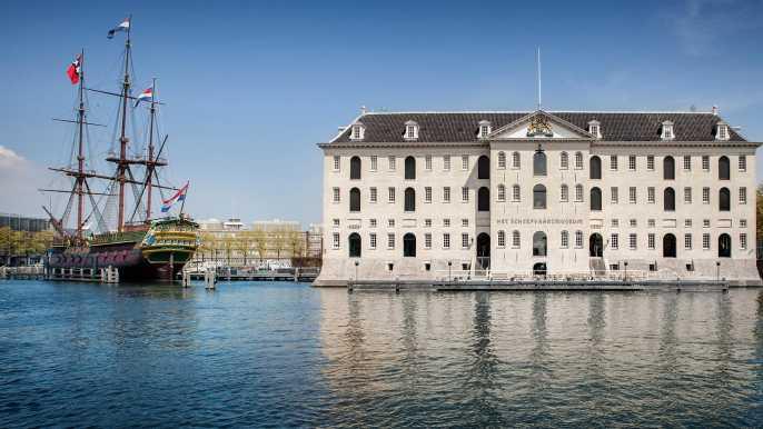 Ámsterdam: ticket sin colas para el Museo Marítimo