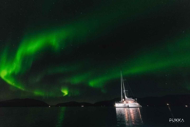 Tromsø: 3-stündige Nordlichter-Segelboot-Tour