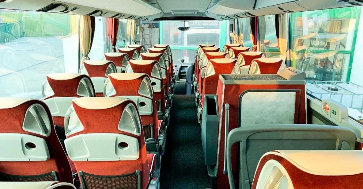 Autobús lanzadera entre Roma y el aeropuerto Fiumicino