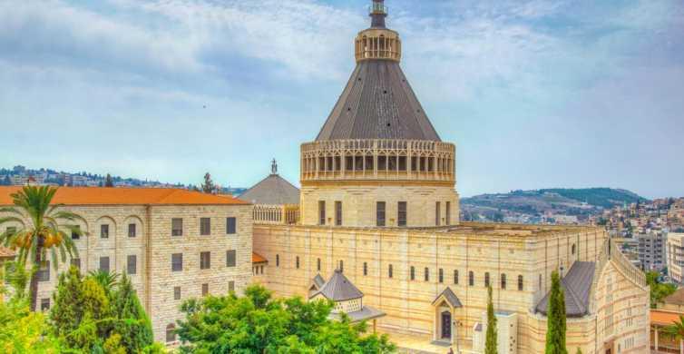 Giordano, Nazareth e Lago di Tiberiade: tour da Gerusalemme
