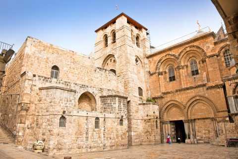 Da Tel Aviv: tour biblico di un'intera giornata a Gerusalemme