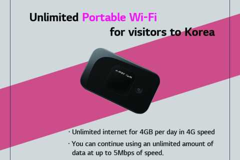 Incheon Airport: Unlimited 4G Portable Pocket Wi-Fi Rental