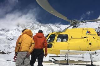Ab KTM: 7-tägiger Everest Base Camp Trek mit Hubschraubertour