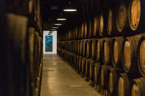 Porto: Guided Tour of Pocas Port Wine Cellar with Tasting