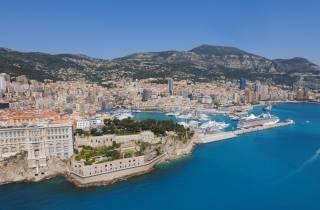 Côte d'Azur: Halbtagestour nach Monaco, Monte Carlo & Eze