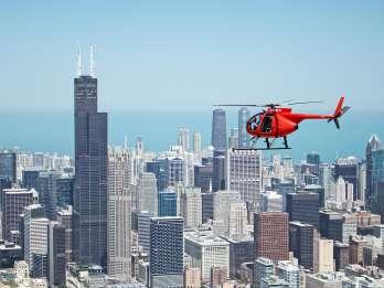 Chicago: 45-minütiger privater Hubschrauberflug für 1-3 Personen