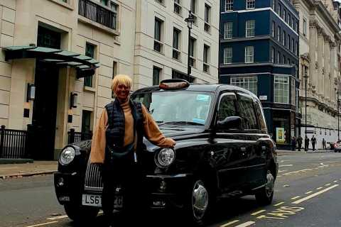 London: Monuments & Back Streets Guided Tour in Black Taxi