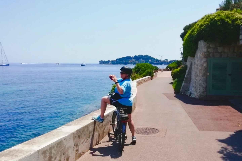 Nizza: E-Bike-Tour entlang der Bucht von Villefranche