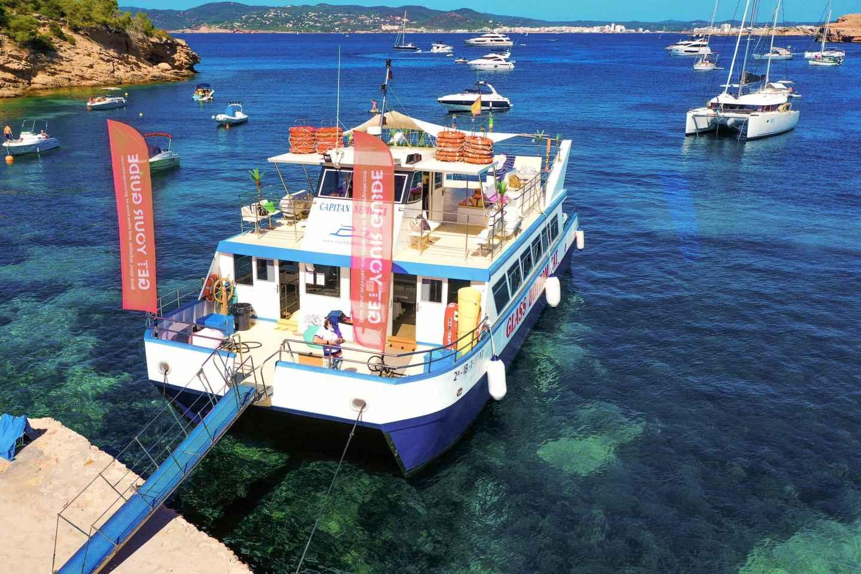 Ab Ibiza: Strand-Hopping und Paddel-Ausflug mit Getränken