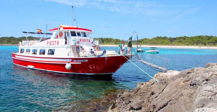 Menorca: Full-Day Boat Tour with Paella Lunch