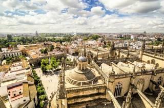 Sevilla: Kombi-Führung Alcázar, Kathedrale und Giralda