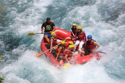 Side: Whitewater Rafting in Koprulu Canyon