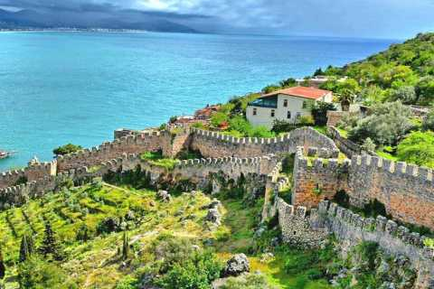From Side: Alanya City Day Trip with Lunch and Boat Cruise