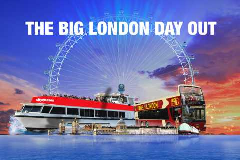 Big London Ticket: London Eye, Big Bus & Thames River Cruise