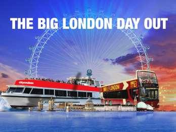 Big London Ticket: London Eye, Big Bus & Themse-Bootsfahrt