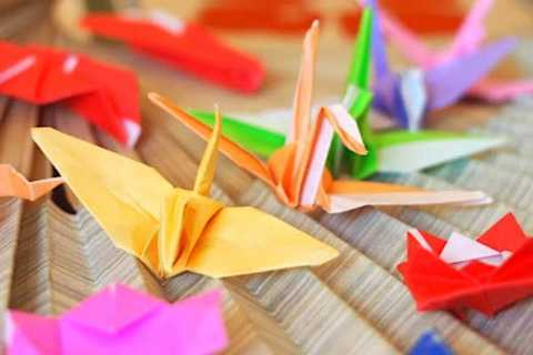 Kioto: clase de origami de 1 hora con instructor local