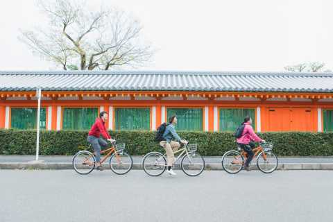 Kyoto: Fushimi Inari & Sanjusangen-do Half-Day Cycling Tour
