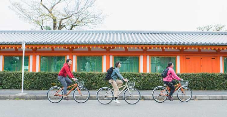 Kyoto: Fushimi Inari & Sanjusangen-do Half-Day Cycling Tour