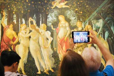 Florence: 14-Person Uffizi Gallery Masterpiece Tour