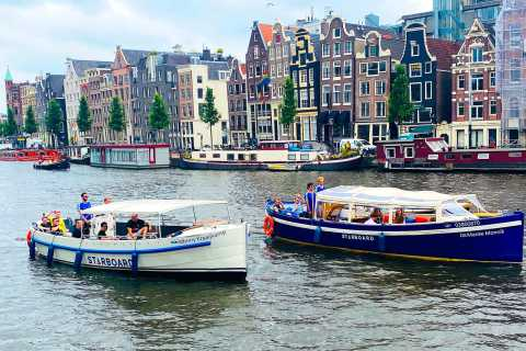 Amsterdam: Open Bar Canal Cruise
