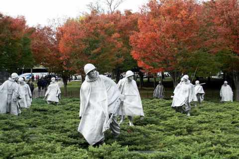 Washington DC: Kvinder i den amerikanske militære sightseeingtur