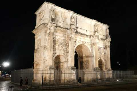 Rome: Colosseum and Roman Forum Guided Walking Tour at Dusk