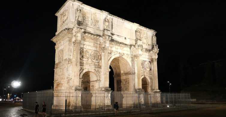 Rom: Wunder des alten Roms in der Abenddämmerung