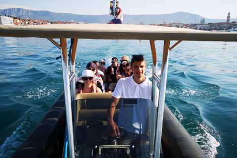 Dubrovnik: Odysseus Cave and 5 Islands Speedboat Tour