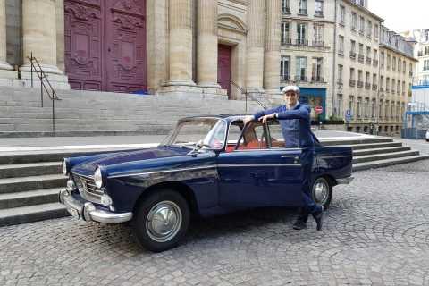 Paris: 1-Hour Tour in a Vintage Car