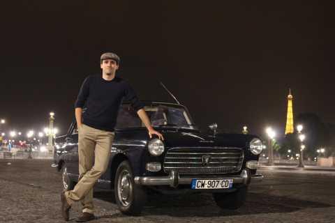 Paris: 1.5-Hour Vintage Car Night Tour