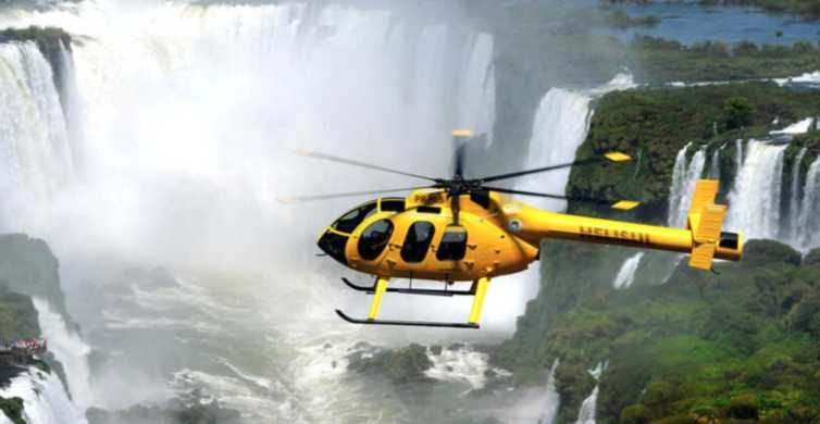 Helicopter Ride Over the Iguazu Falls - Admission Ticket