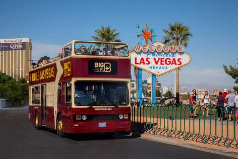 Las Vegas: Hop-On Hop-Off Sightseeing City Tour