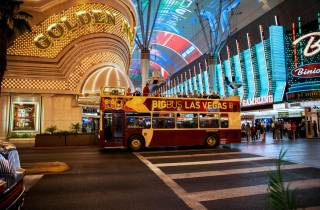 Las Vegas: Abendtour im Open-Top-Bus