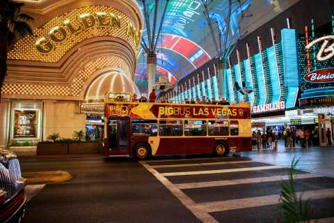 Las Vegas 3-Hour Night Tour by Open-Top Bus
