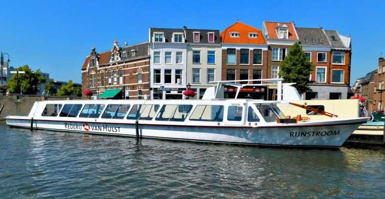 Leiden: cruzeiro de barco pelos lagos Kagerplassen