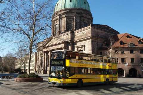 Nuremberg: tour en autobús con paradas libres