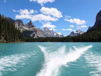 Jasper: Maligne Valley Wildtierbeobachtung und Bootsfahrt