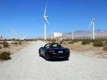 Palm Springs: Selbstfahrende Windmühlentour