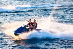 Koh Samui: Tour Privado com Jet Ski e Jantar ao Pôr do Sol