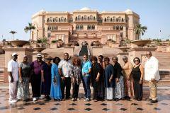 Mesquita Sheikh Zayed c/ Café no Emirates Palace