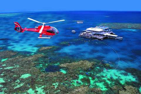 Helicopter and Cruise Packages From Port Douglas