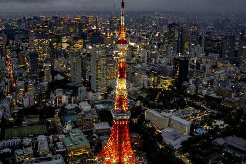 Tokyo: giro turistico in elicottero privato