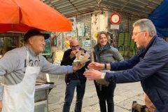 Palermo: excursão de comida de rua e mercado local de 3 horas