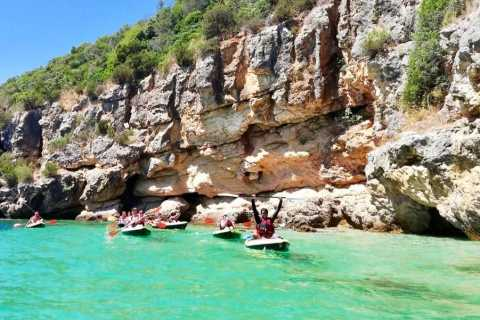 Lisbon: Full-Day Kayak Tour with Picnic and Transfer