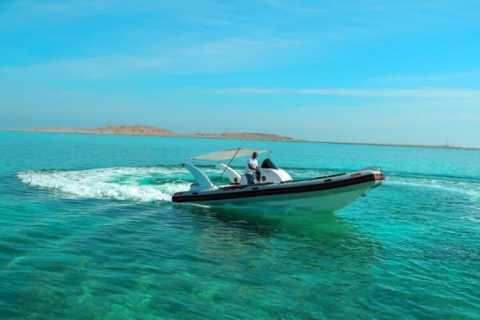 Hurghada: Three Island Visit by Speedboat with Hotel Pickup