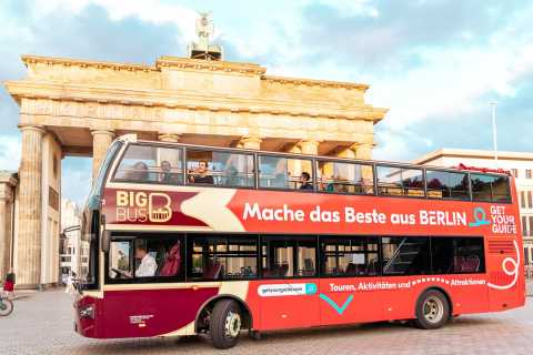 Berlin: Hop-On Hop-Off Sightseeing Tour with Optional Cruise