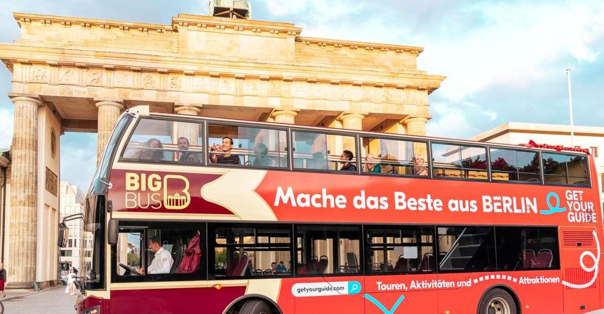 Berlín: autobús turístico con crucero opcional